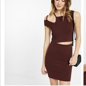 2 piece express outfit - top and skirt